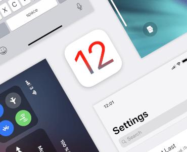 iOS 12 UI