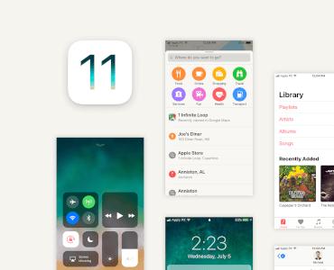 iOS 11 UI