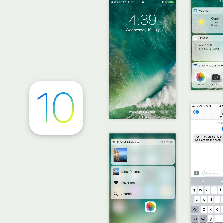 iOS 10 UI